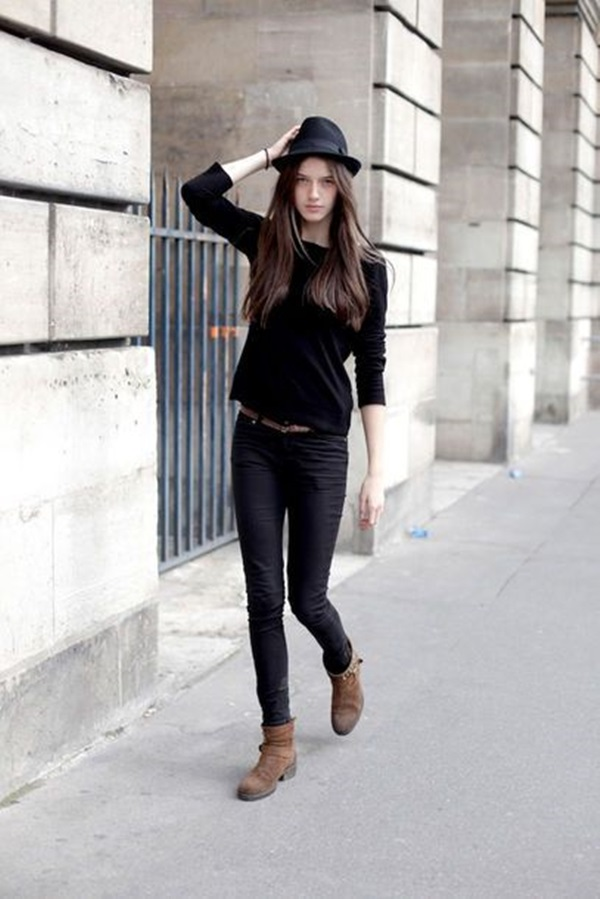 All Black Chic Outfits (13)