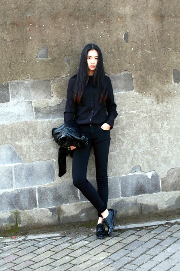 All Black Chic Outfits (15)