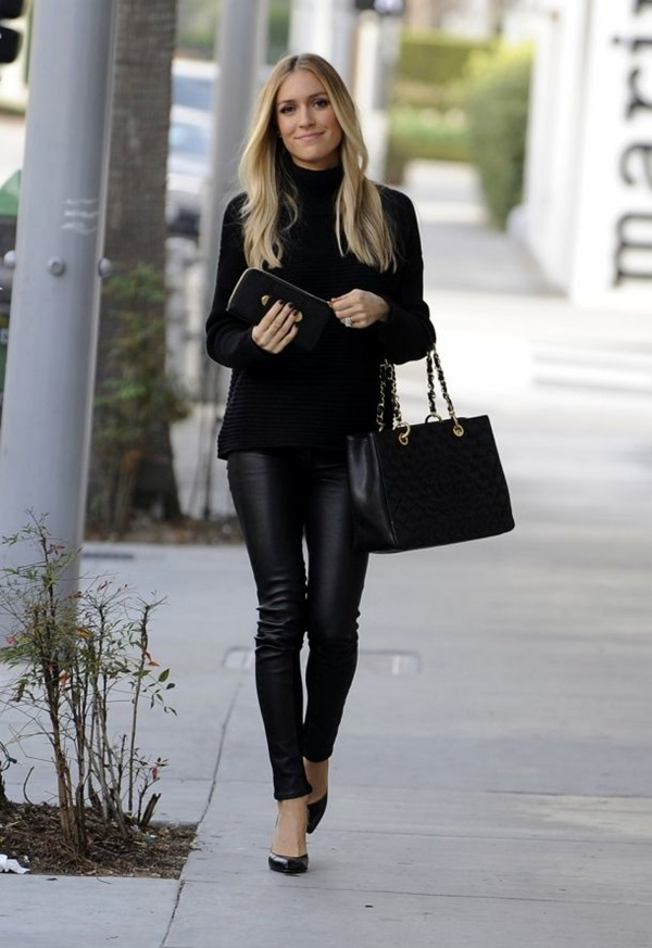 All Black Chic Outfits (19)