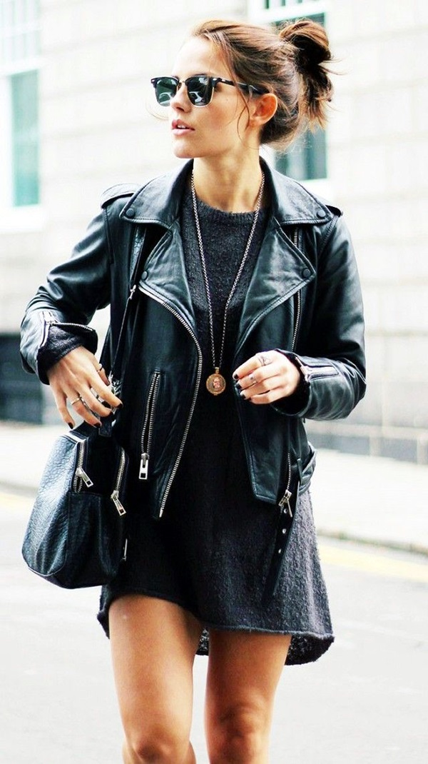 All Black Chic Outfits (2)