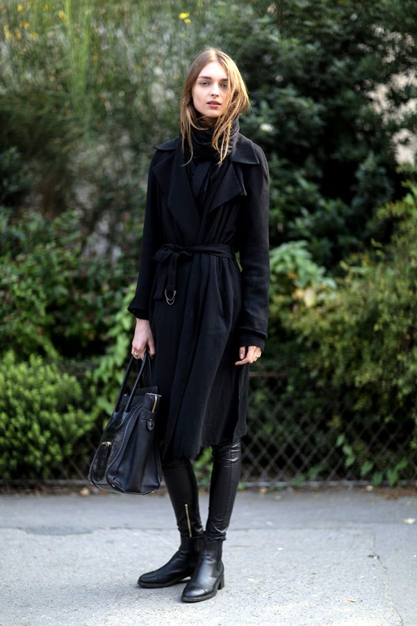 All Black Chic Outfits (5)