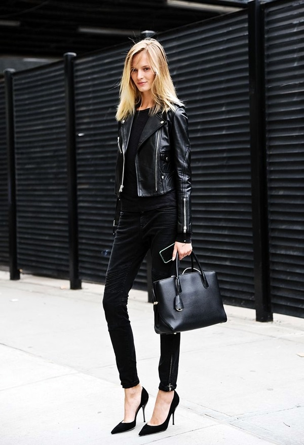 All Black Chic Outfits (7)