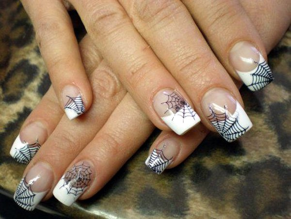 Black and White Nails Designs (9)