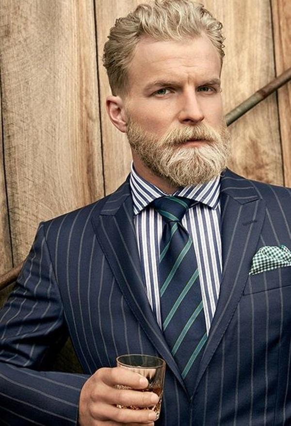 Cute Short and Full Beard Styles for Men (16)