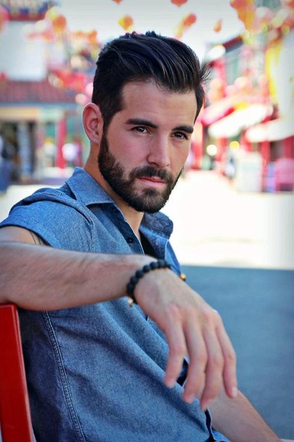 Cute Short and Full Beard Styles for Men (18)