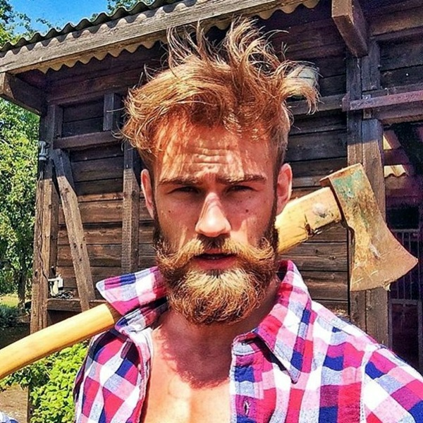 Cute Short and Full Beard Styles for Men (2)