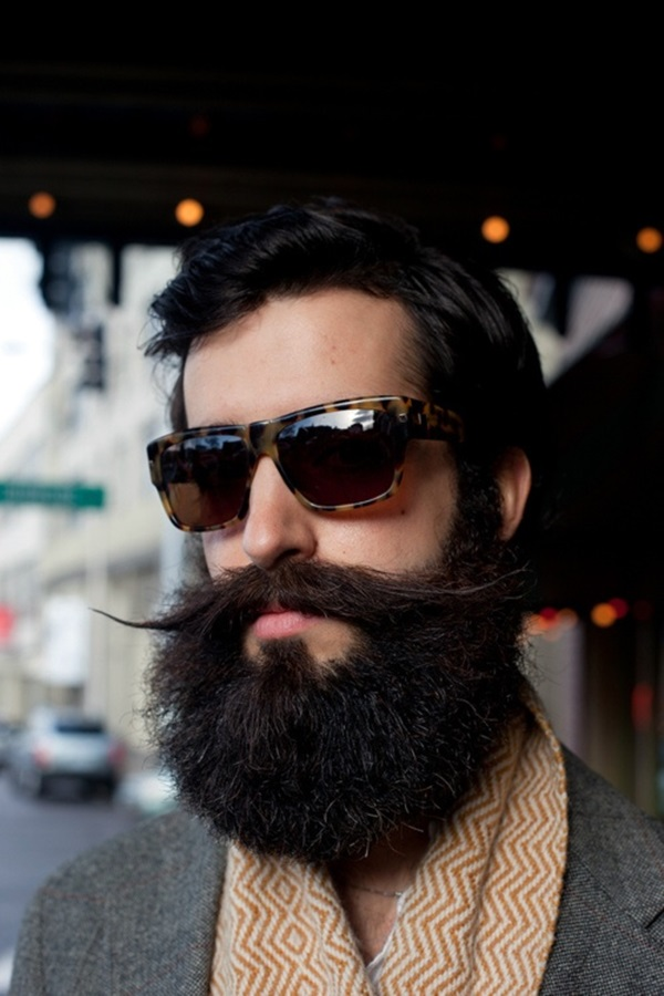 Cute Short and Full Beard Styles for Men (20)