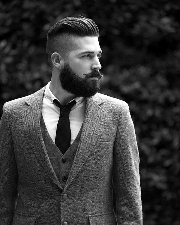 Cute Short and Full Beard Styles for Men (22)