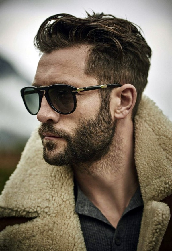 Cute Short and Full Beard Styles for Men (26)