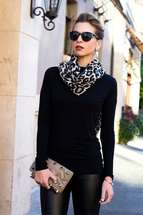 Scarf Outfit Ideas to try this Winter (14)
