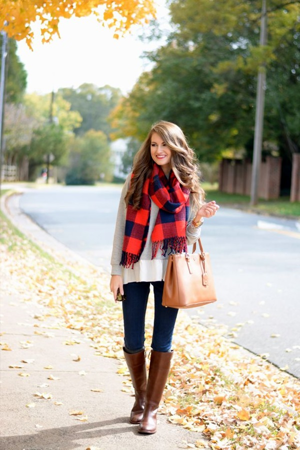 Scarf Outfit Ideas to try this Winter (25)