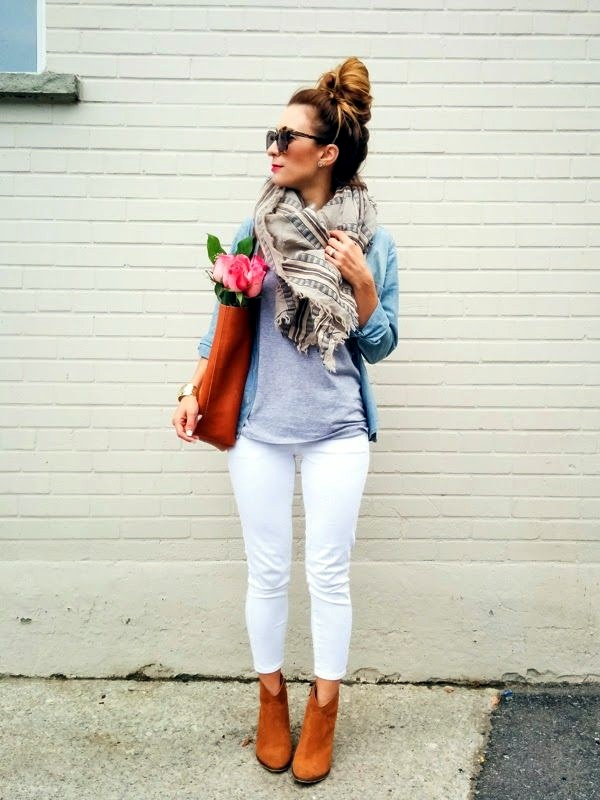Scarf Outfit Ideas to try this Winter (26)