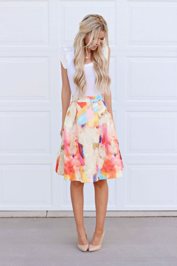Styles of Skirt Every Woman Should Own (22)
