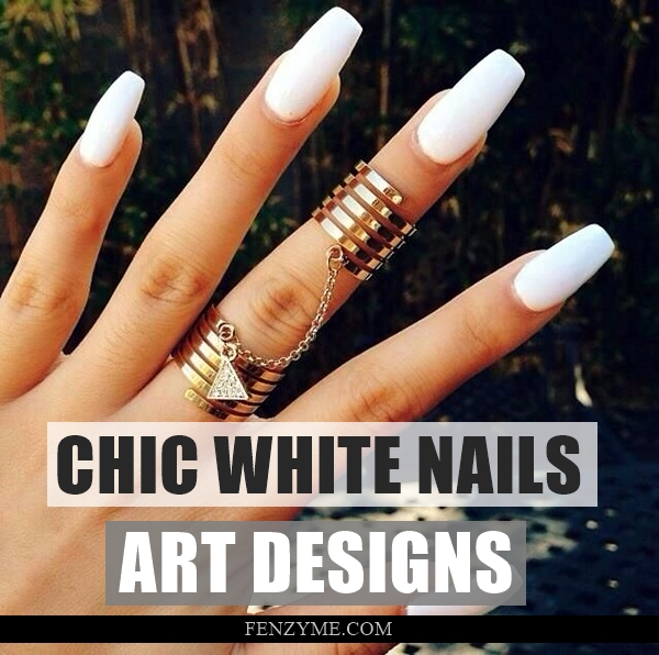 White Nails art Designs (1.1)