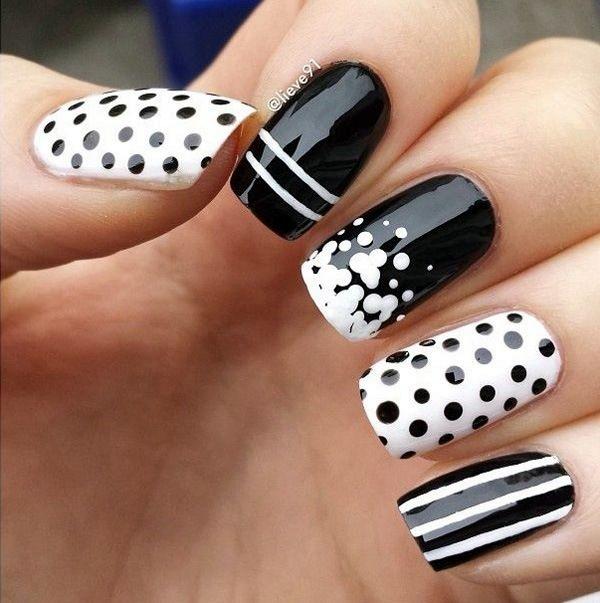 White Nails art Designs (16)