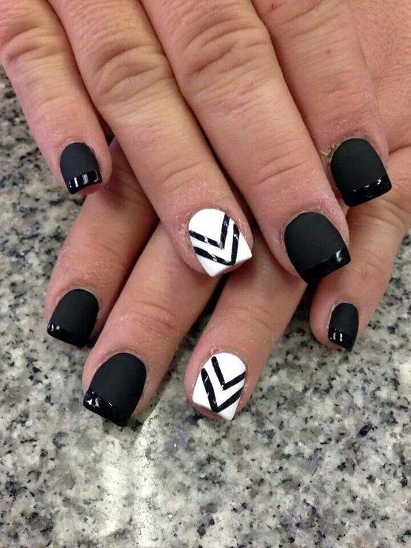White Nails art Designs (17)
