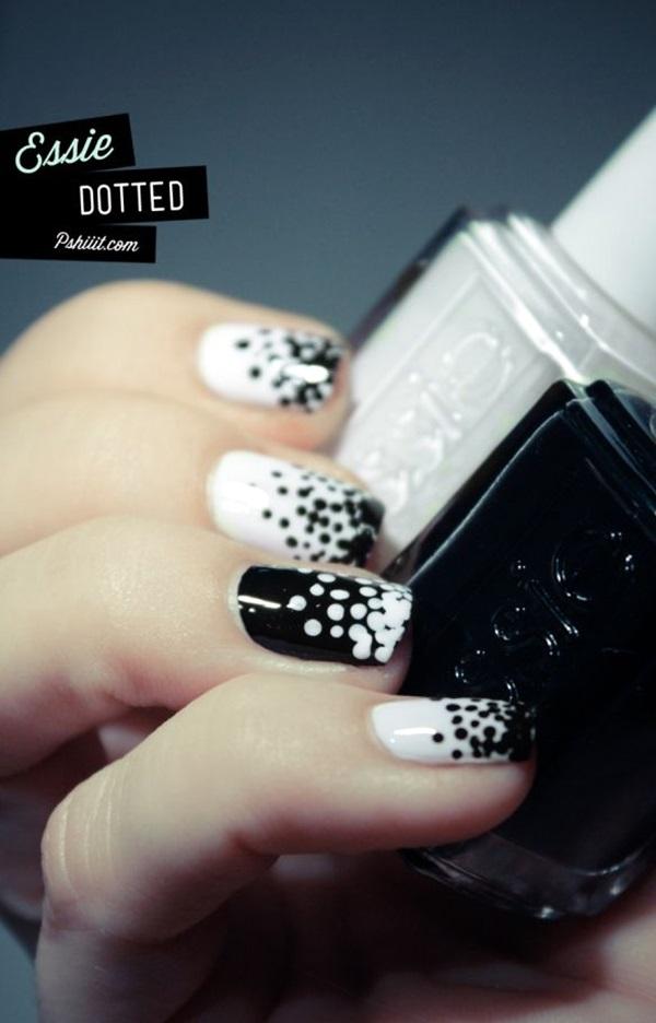 White Nails art Designs (23)