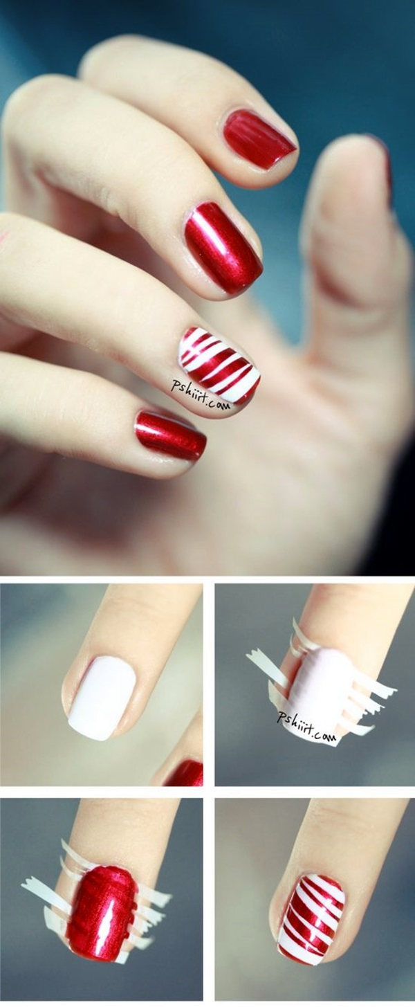 White Nails art Designs (29)