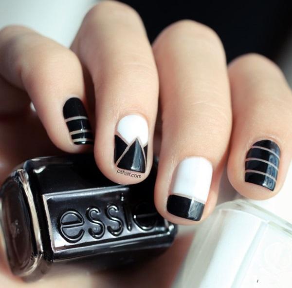White Nails art Designs (36)