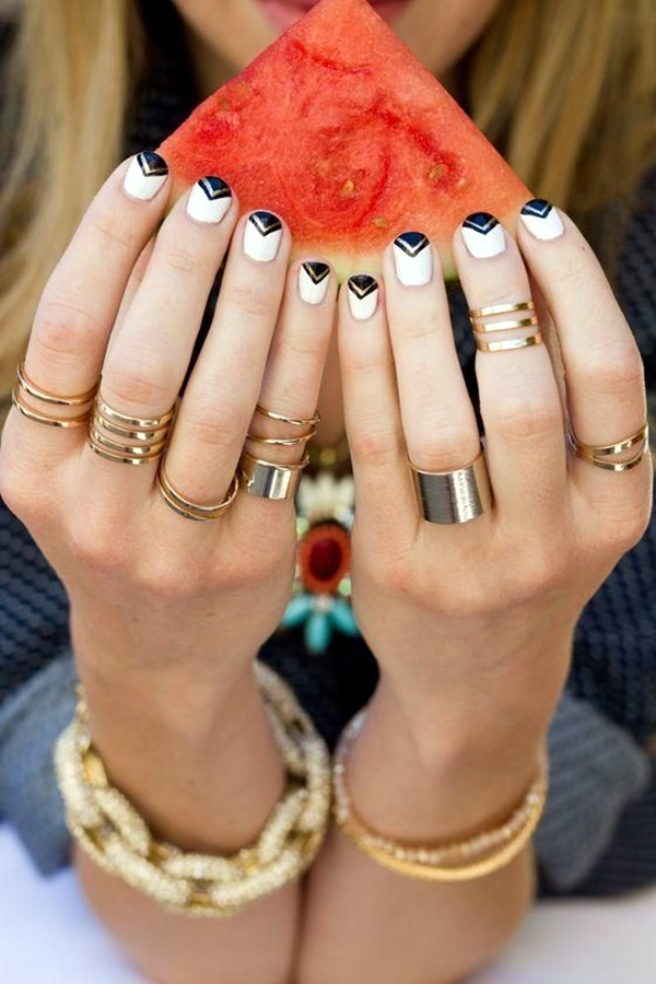 White Nails art Designs (37)