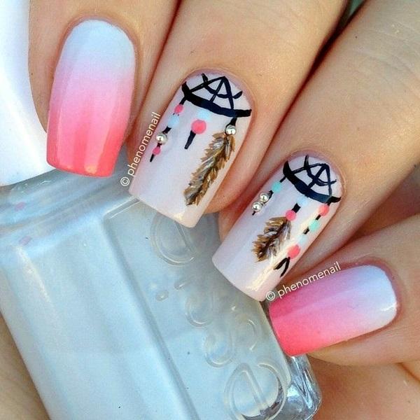 White Nails art Designs (38)
