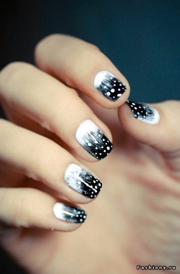 40 Inspirational Winter Nails Designs 2017
