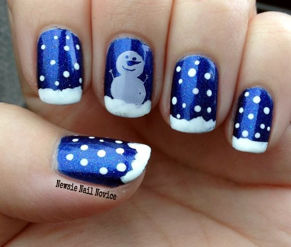 Winter Nails Designs 2015 (1)