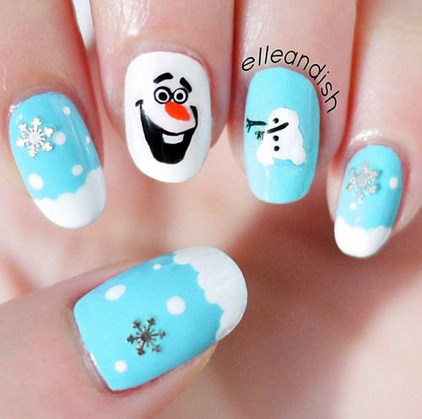 Winter Nails Designs 2015 (6)
