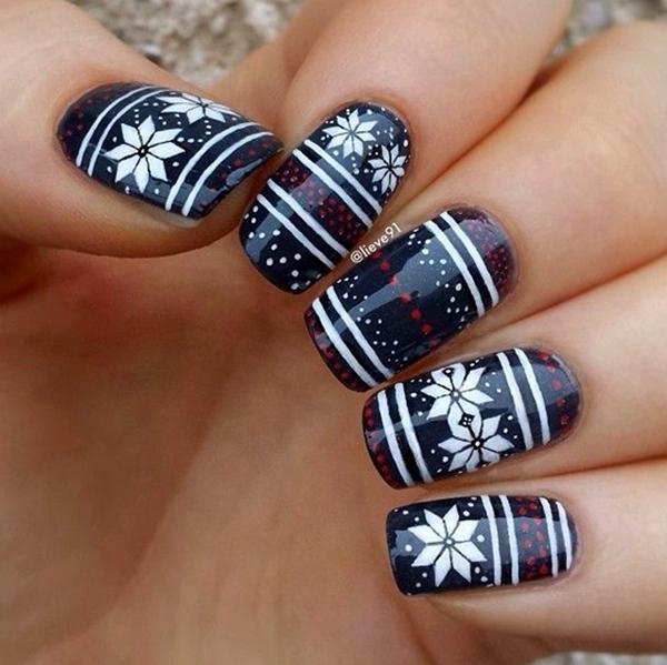 Winter Nails Designs 2015 (7)