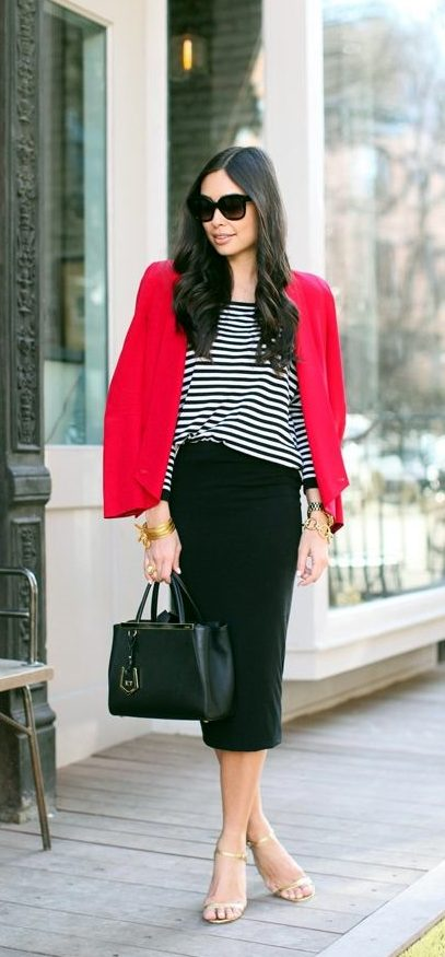Blazer Outfits for Work (6)