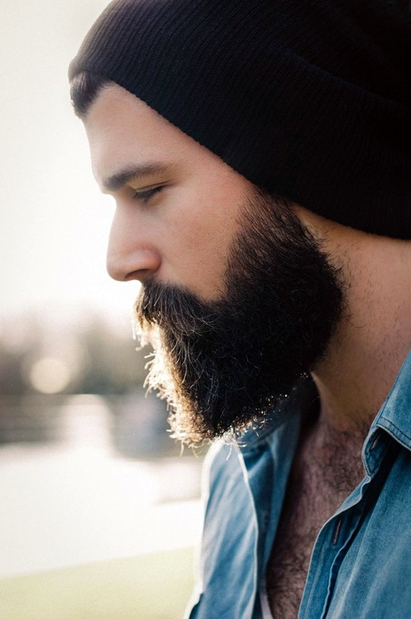 Cute Short and Full Beard Styles for Men (1)