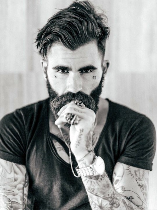 Cute Short and Full Beard Styles for Men (2)