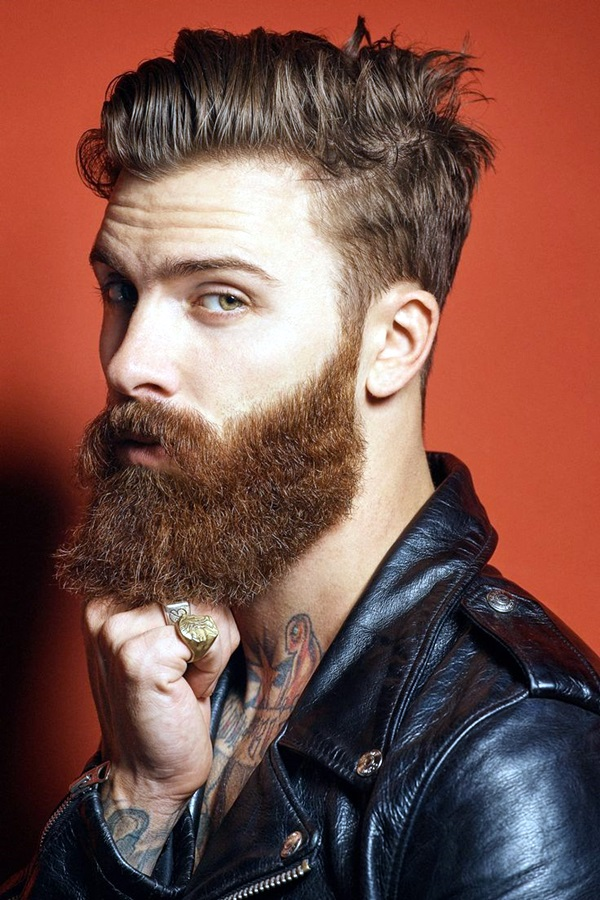 Cute Short and Full Beard Styles for Men (6)