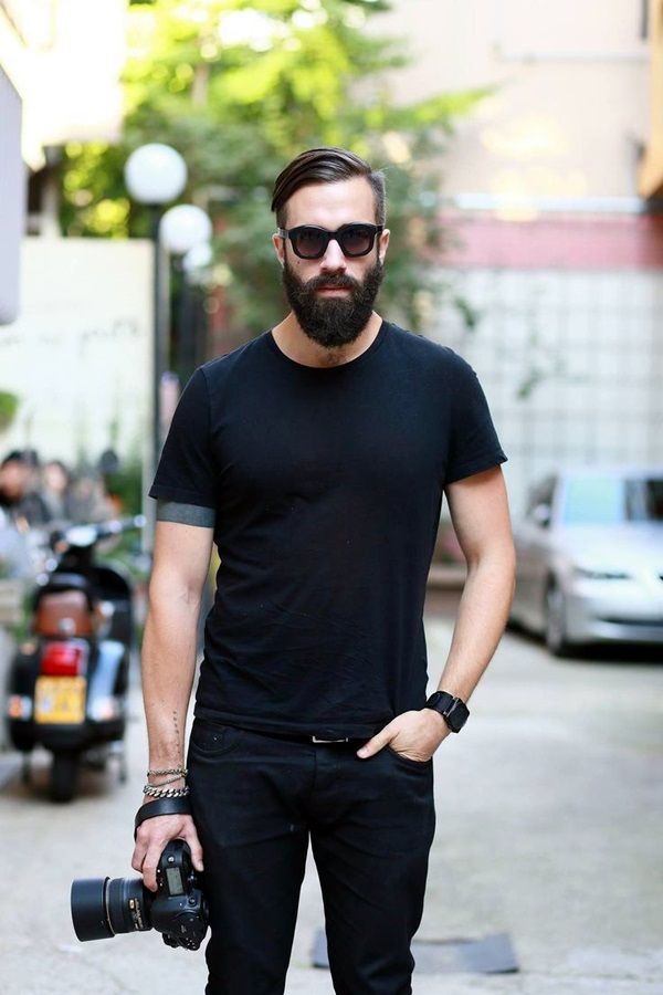 Cute Short and Full Beard Styles for Men (7)