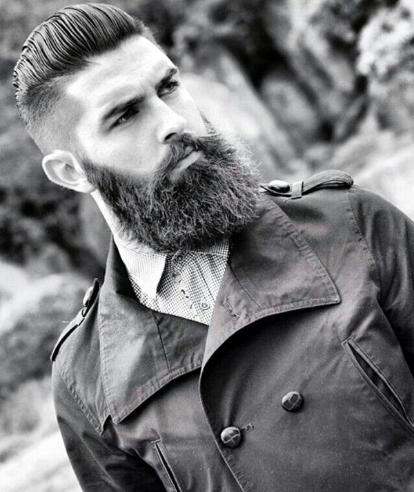 Cute Short and Full Beard Styles for Men (8)