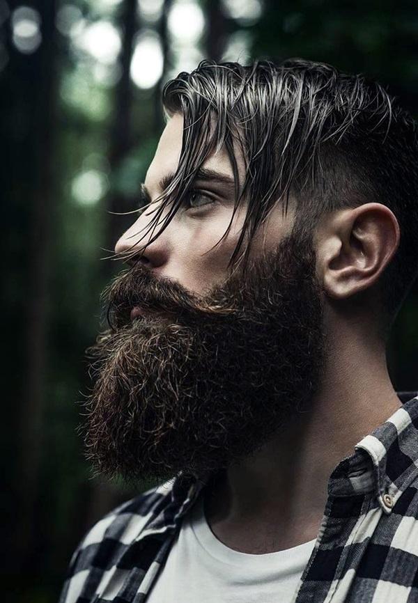 Cute Short and Full Beard Styles for Men (9)