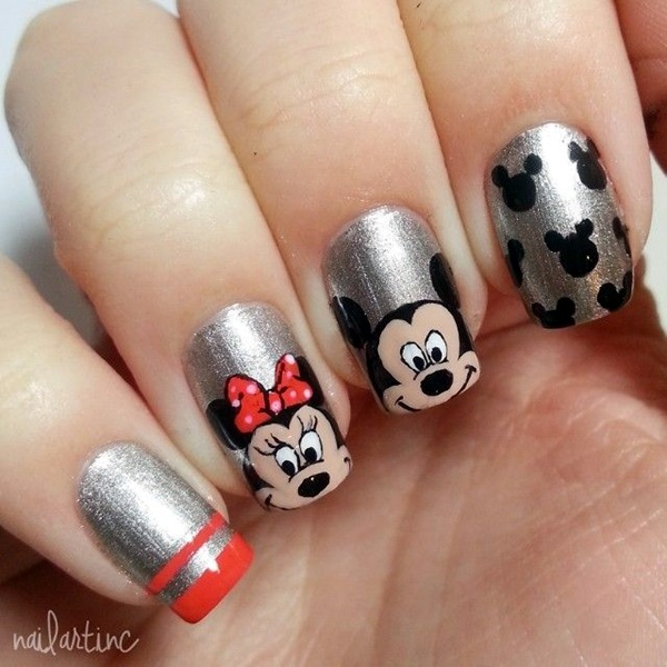 Easy Nail Art Designs for Short Nails 2016 (4)