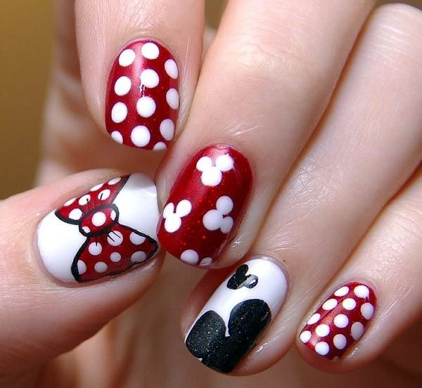 Easy Nail Art Designs for Short Nails 2016 (5)