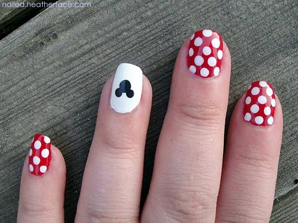 Easy Nail Art Designs for Short Nails 2016 (6)