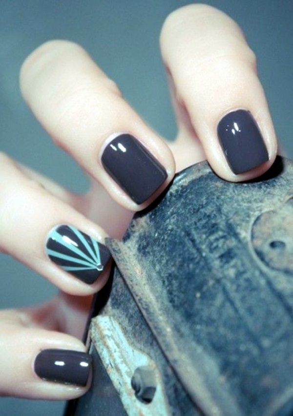 Easy Nail Art Designs for Short Nails 2016 (7)