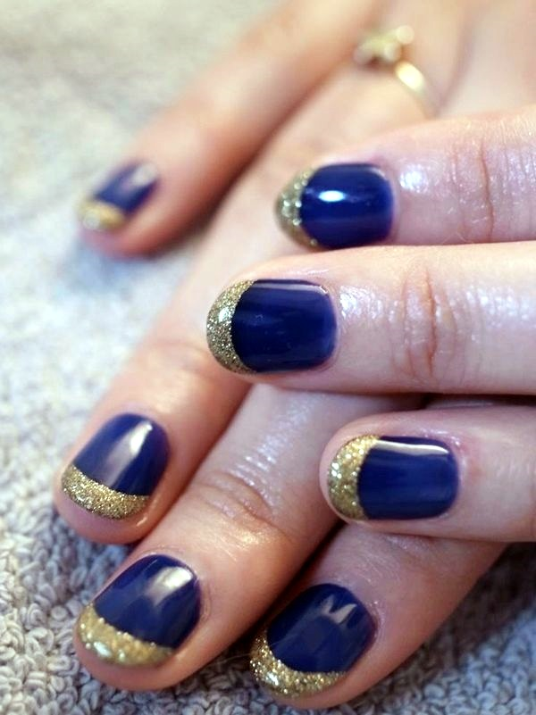 nail nails designs easy short simple winter gold navy french latest panasonic acrylic tips tip colors polish care flag cool