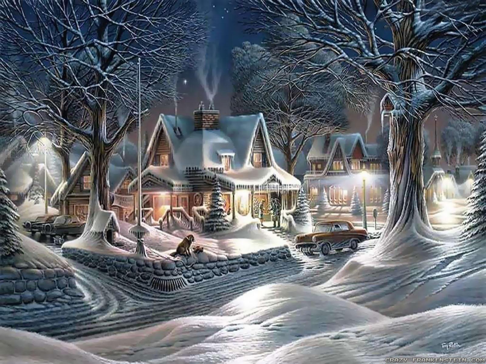 Free Animated Christmas Wallpaper for Desktop (1)