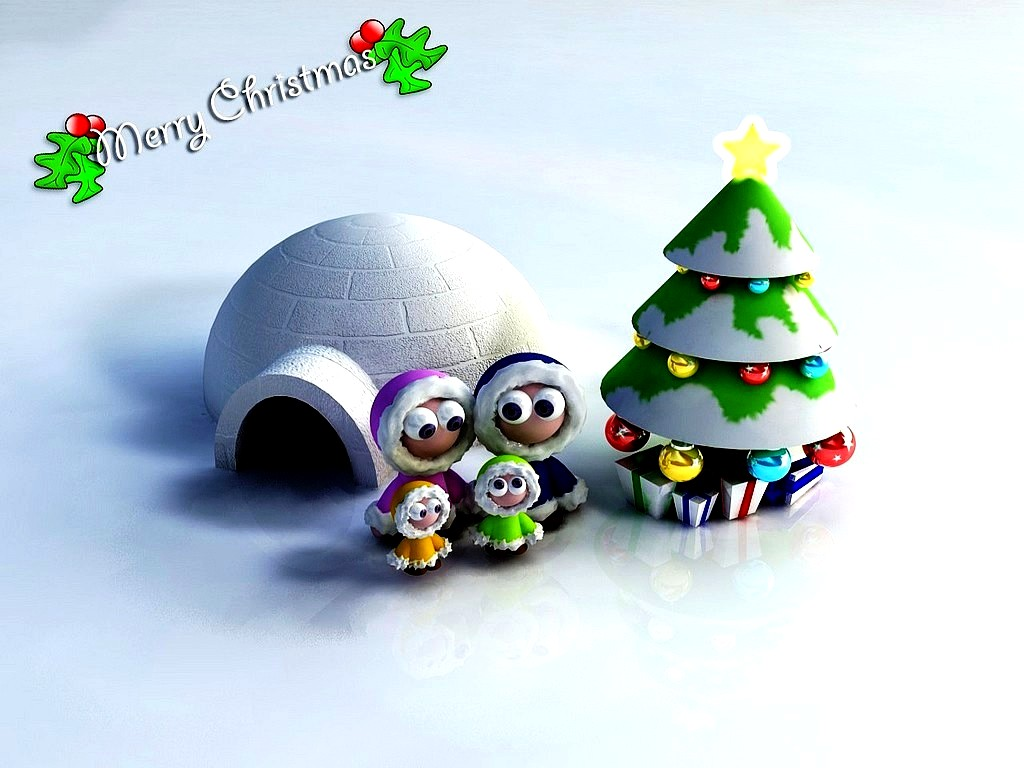 Free Animated Christmas Wallpaper for Desktop