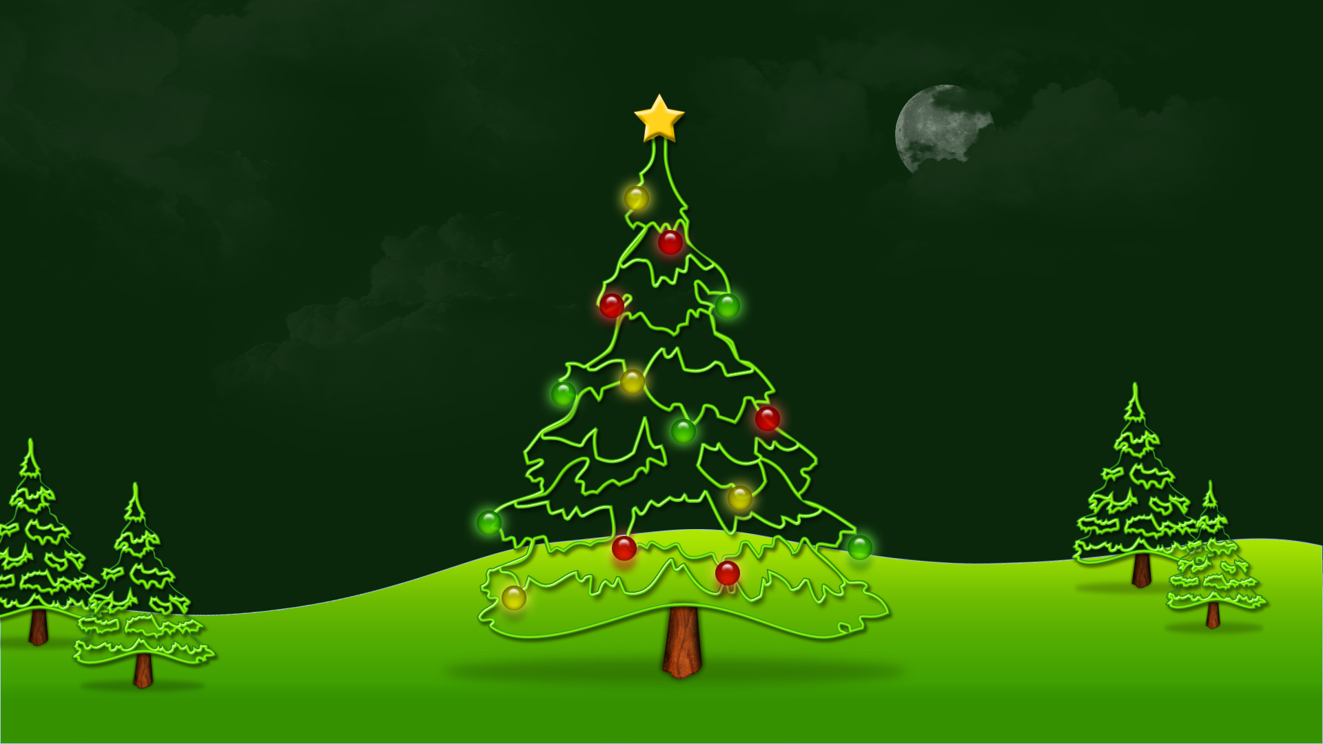 Classic Christmas Motion Background Animation Perfecty: 40 Free Animated Christmas Wallpaper For Desktop