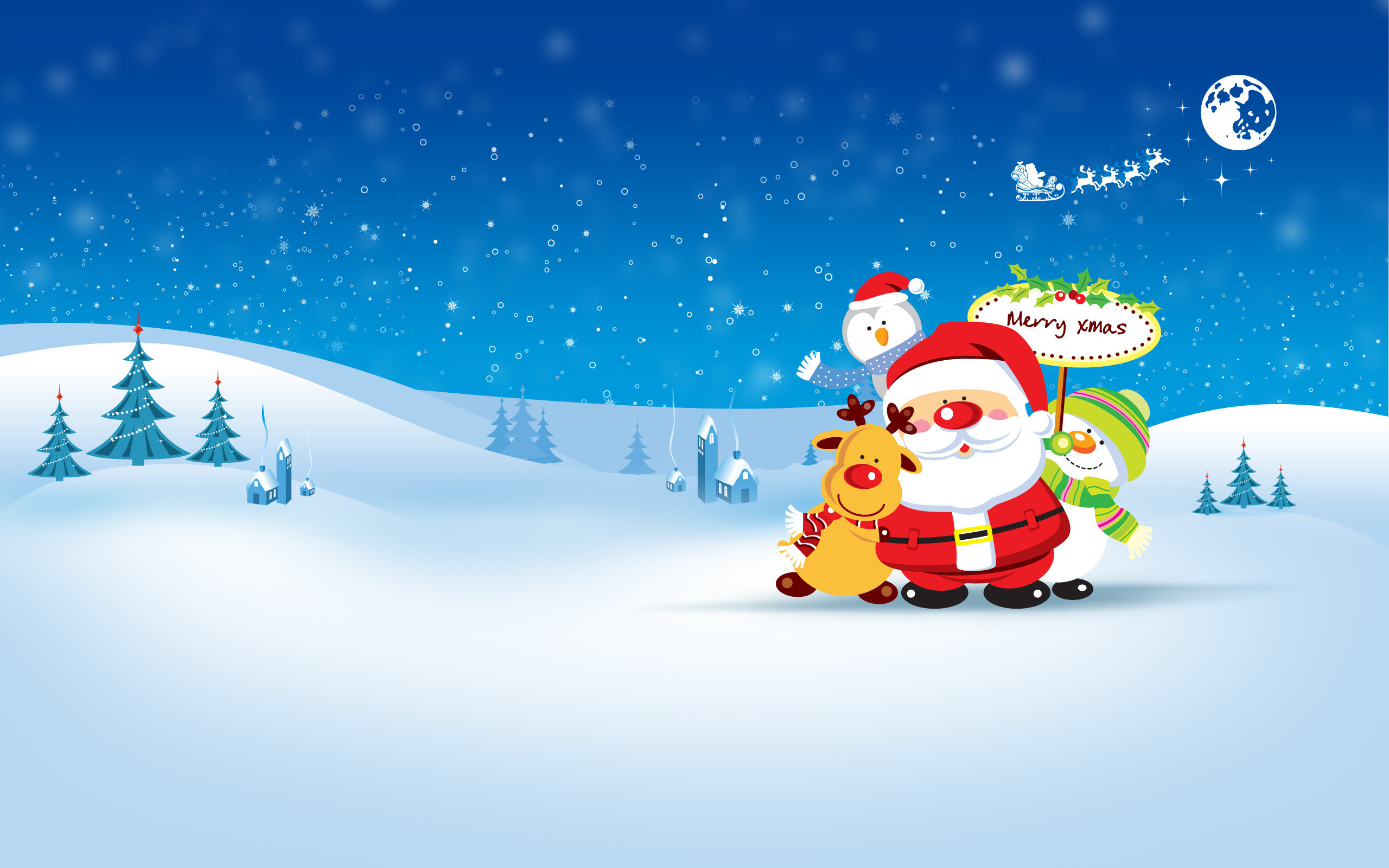 Free Animated Christmas Wallpaper For Desktop 3