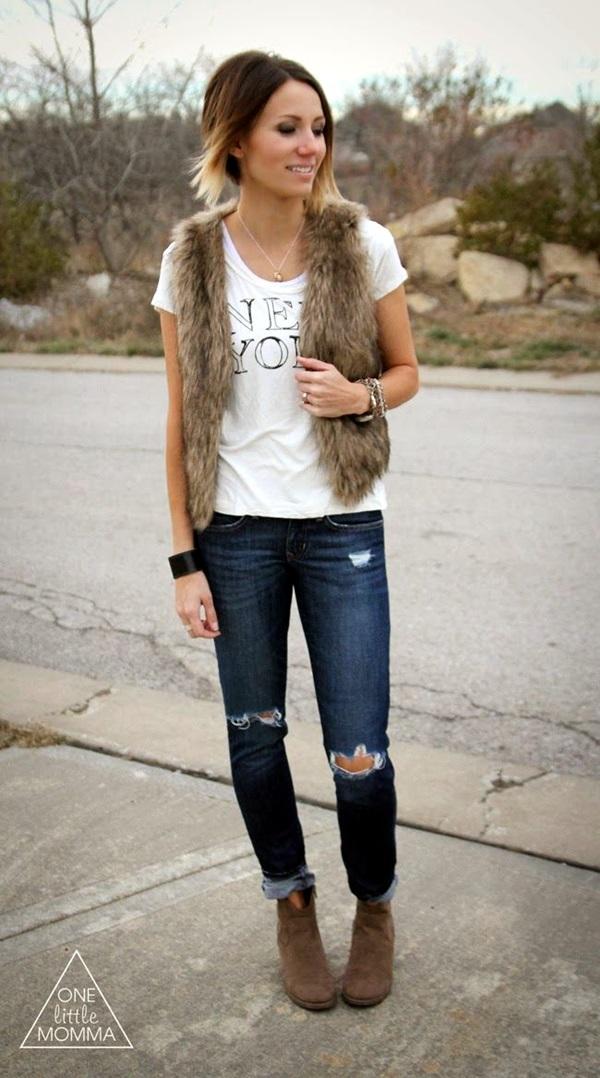 Fur Vest Outfits Ideas (1)
