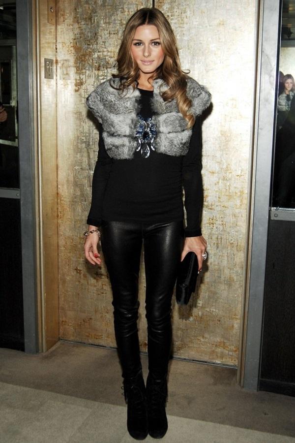 Fur Vest Outfits Ideas (24)