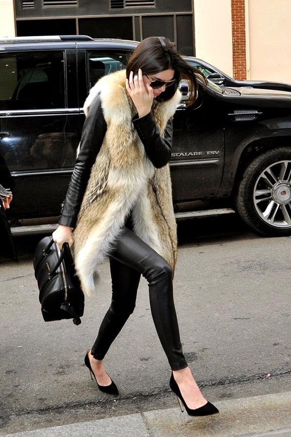 Fur Vest Outfits Ideas