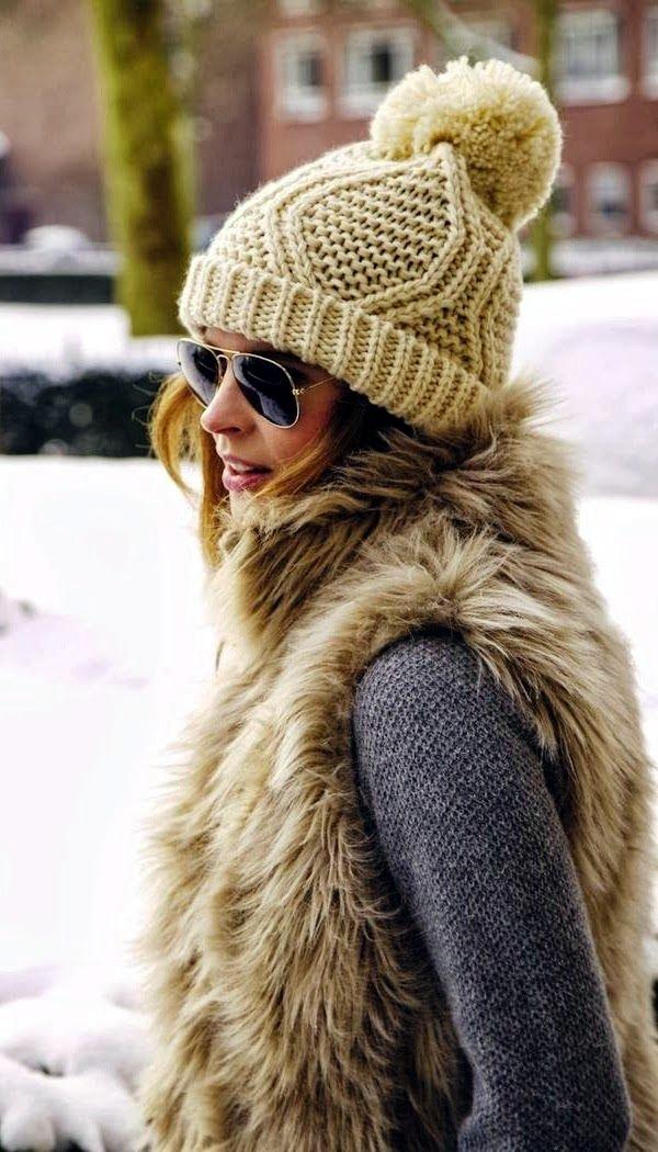 Fur Vest Outfits Ideas (3)