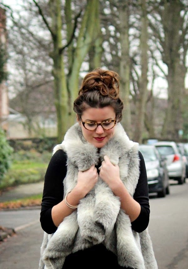 Fur Vest Outfits Ideas (4)
